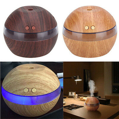 Essential Oil Diffuser Ultrasonic Air Humidifier Atomizer Home Aroma Purifier