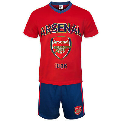 Arsenal FC Official Football Gift Boys Kids Kit Pyjamas