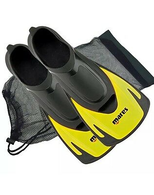 Mares Hermes Swimming Snorkelling Training Short Fins Flippers