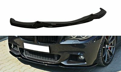 BMW F10 F11 M Sport Front Bumper lip spoiler chin Power skirt splitter valance