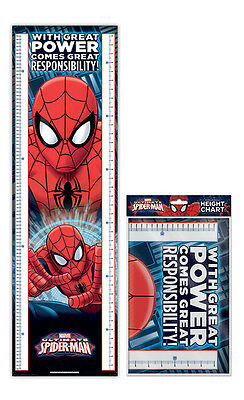 Spider-Man With Great Power - Folded Height Chart