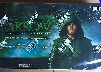 Arrow 1 Sealed Box Autos Cryptozoic Oliver Queen