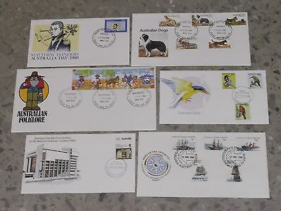 1980 Decimal Stamp First Day Covers - CHEAP #1