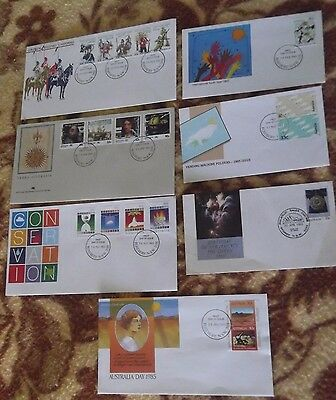 1985 Decimal Stamp First Day Covers - CHEAP #1