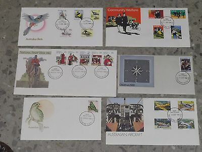 1980 Decimal Stamp First Day Covers - CHEAP #2