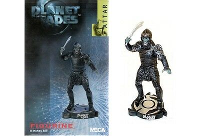 """Planet of The Apes Attar 8"""" inch Figurine 2001 from Neca Brand New Boxed"""