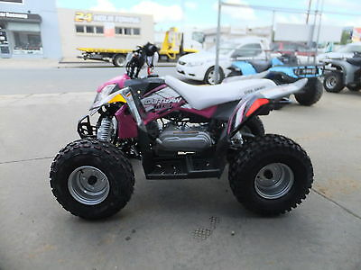 Polaris Outlaw 110 Pink/Grey SAVE $700 New 2017 Model