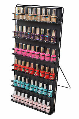 Nail Varnish Rack/Nail Polish Rack 6 tier free standing or wall mount