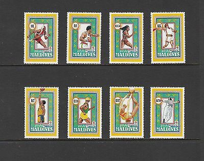 OLYMPICS - Maldives- 1992 set of 8  (SC 1712-9) - MNH-Z363