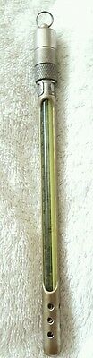"""Antique Cased Thermometer """"ascot Gas Water Heaters"""" By Hinks Wells Ltd."""