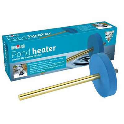Bermuda 150w Pond Heater - Fish Koi Life Saver In Winter Cold Conditions
