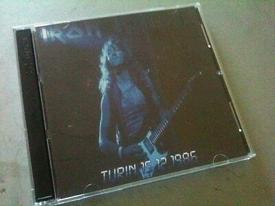 Iron Maiden Double CD Turin Italy Somewhere In Time Tour 86