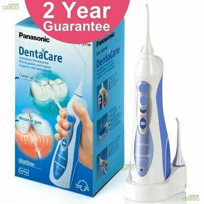 Panasonic DentaCare Dental Oral Cordless Waterjet Teeth Irrigator Water Flosser