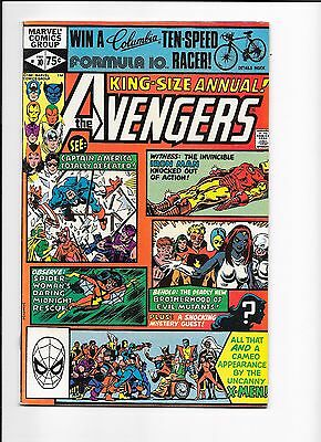 Marvel Comics Avengers King Size Annual Issue No 10 VF? 1st Rogue Madelyn Pryor