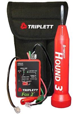 Triplett Fox & Hound 3399 Premium Wire and Cable Tracing Kit with Tone Generator