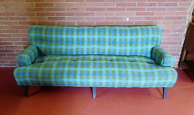 Estate Vintage Mid Century Club Sofa Eames Wormley Era Live Like The Jetsons