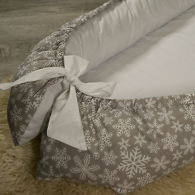 Baby double-sided Baby Nest for newborn co sleeper, sleep bed, cot, snuggle nest