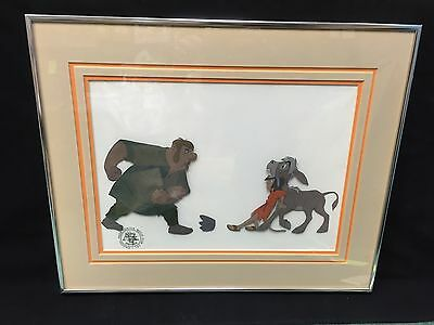 "Original Disney Art Production Cel ""The Small One"""
