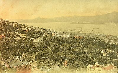 General View Of The Town Of Hong Kong 1921 Pc