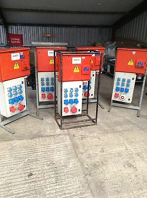 125 amp 3 phase Blakley Power Distro panels  Job Lot x 5. Site or event.