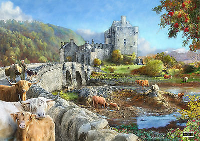 The House Of Puzzles - 1000 PIECE JIGSAW PUZZLE - Highland Morning