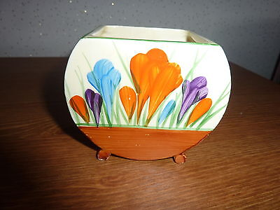 Clarice Cliff Sugar Bowl Crocus Pattern No lid