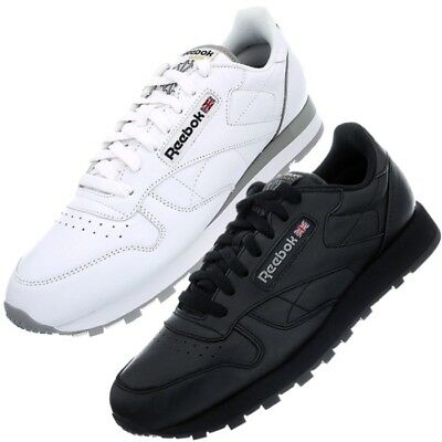REEBOK CLASSIC LEATHER weiß od. schwarz Herren Damen Fashion