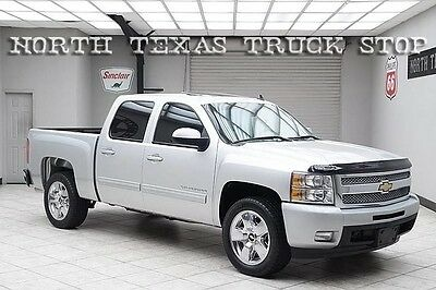 2011 Chevrolet Silverado 1500 LTZ Crew Cab Pickup 4-Door 2011 Chevy Silverado 1500 LTZ Navigation Sunroof 20s Heated Leather TEXAS TRUCK