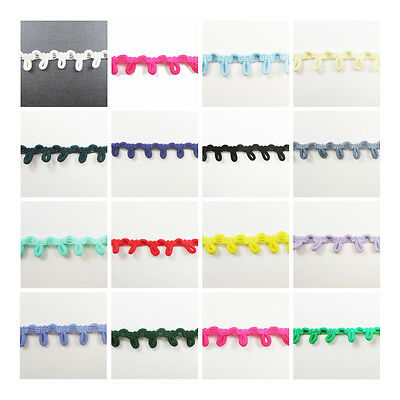 1 Metre Elastic Button Loops Trimming *15 Colours* Haberdashery Sewing Corset