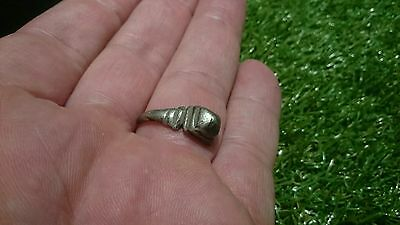 Lovely Roman Silver ring part with bezel 3.52g