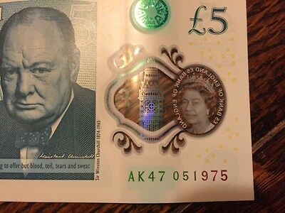 Special Ak47 £5 Note