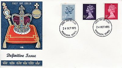 Joblot / Set of 5 Five FDC First Day Covers - Definitive Stamps