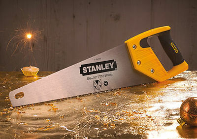 Stanley 1-20-119 Heavy Duty Toolbox Saw 380mm (15in) - 7TPI - FAST FREE POST!