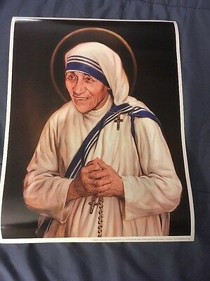 Saint Theresa Of Calcutta Official Canonization Portrait Commissioned By K of C