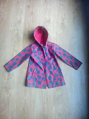 Ladybird childrens coat Red Age 4-5 yrs Height 104-110cm