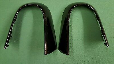 Jaguar F-Type Set Pair Gloss Back Roll Bar Hoop Trims Convertible Genuine Used