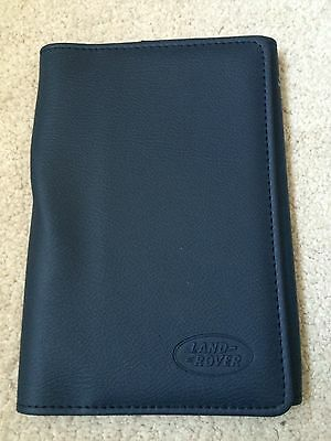 New Genuine Land Rover Range Rover Blue Owners Handbook Service Book Pack Wallet