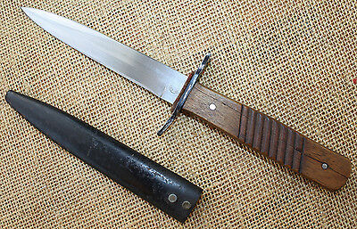 German WWI period DEMAG trench or fighting knife. Grabendolch.