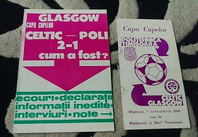TWO programmes from politehnica timisoara v celtic.