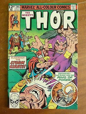 Marvel - The Mighty Thor May 1980 No. 295