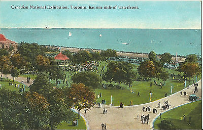 Canadian National Exhibition - Waterfront, Bandstand - Toronto - 1930s Postcard