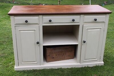 Chalk Painted Dresser Base Sideboard