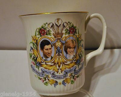 Lady Diana & Prince of Wales Wedding Cup 29th July 1981