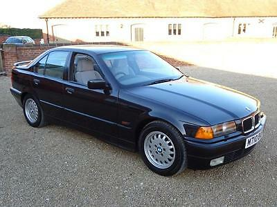 Bmw 325 Tds Se Auto 1994 Finished In Black With Light Grey Interior