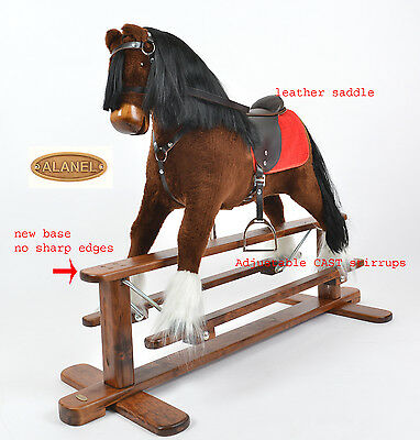 MEW MAGNUM Handmade Brand New LARGE Rocking Horse MADE IN EUROPE from ALANEL.
