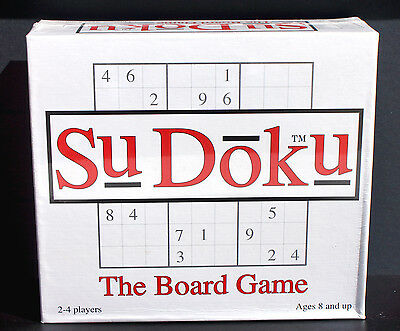 Sudoku - The Board Game - Paul Lamond Games - (Factory Sealed)