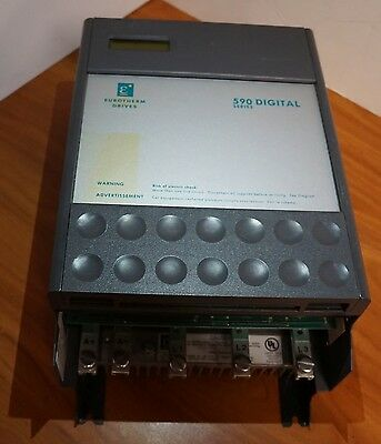 EUROTHERM 590 DC Drive - Speed Controller - 20 HP,  480V