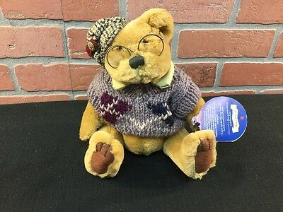 Sherwood Brass Button Collection Teddy Bear Of Long Life 1 Qty
