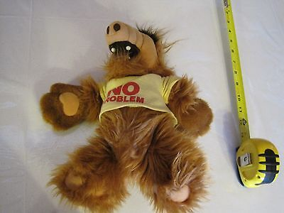 1988 Alf---Plush Stuffed Animal---No Problem--12""