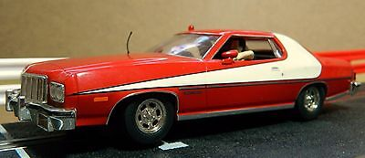 Scalextric Ford Gran Torino 'starsky & Hutch' (C2553) In Good Used Condition
